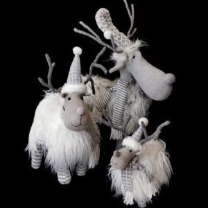 Shaggy Mountain Reindeer